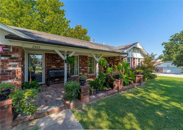 2503 Hardy Springs Road, Mcalester, OK 74501 (MLS #2100865) :: Active Real Estate