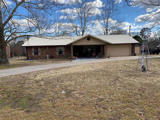 9 Grant French Addition Road, Eufaula, OK 74432 (MLS #2101121) :: RE/MAX T-town