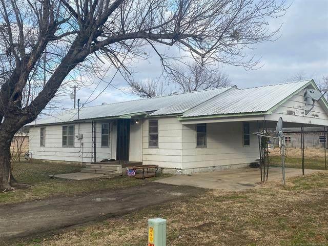 100 S M, Quinton, OK 74561 (MLS #2101550) :: Active Real Estate