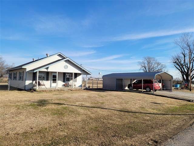 420235 E 1080 Road, Checotah, OK 74426 (MLS #2101894) :: Hopper Group at RE/MAX Results