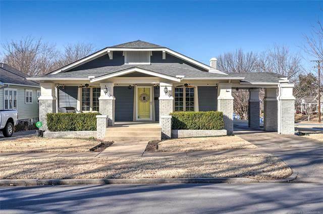 1704 S Yorktown Avenue, Tulsa, OK 74104 (MLS #2102171) :: 580 Realty