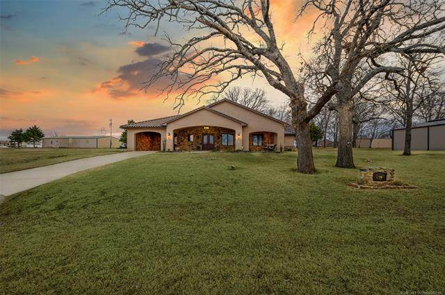 14229 Villa Lane, Kingston, OK 73439 (MLS #2102337) :: Active Real Estate