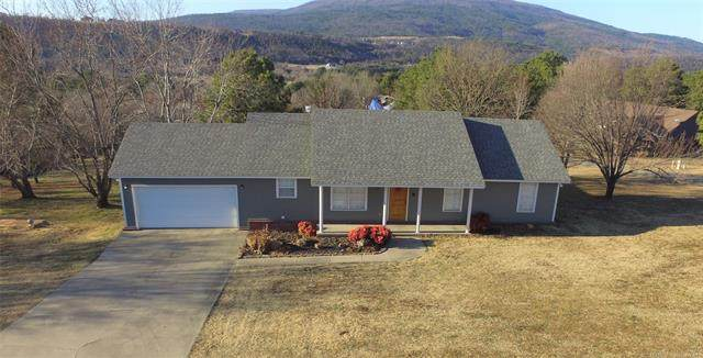 33781 Scott Road, Poteau, OK 74953 (MLS #2102796) :: RE/MAX T-town