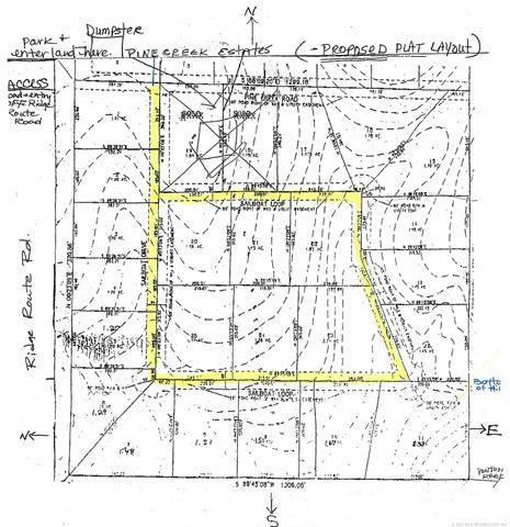 Ridge Route Road, Vian, OK 74962 (MLS #2102900) :: RE/MAX T-town