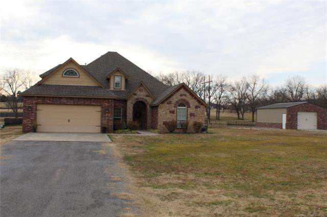 24869 S 382 Road, Fort Gibson, OK 74434 (MLS #2103136) :: RE/MAX T-town