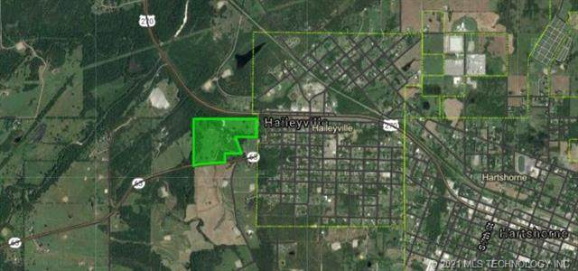 State Hwy 63, Haileyville, OK 74546 (MLS #2104397) :: Active Real Estate