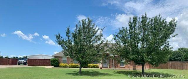 6 Liberty, Calera, OK 74730 (MLS #2104971) :: Active Real Estate