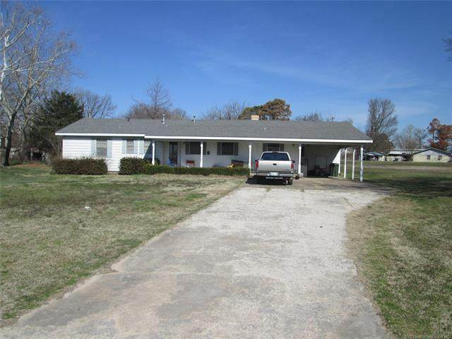 701 Mckinley, Calera, OK 74730 (MLS #2105082) :: Active Real Estate