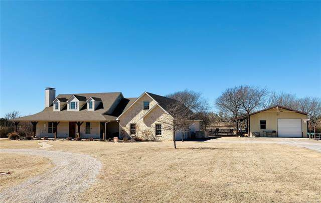 110 Whitney Way, Madill, OK 73446 (MLS #2105140) :: Active Real Estate