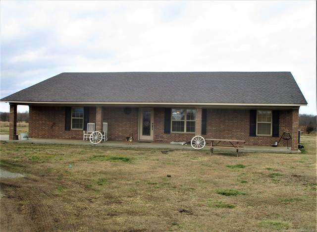 27769 310th Avenue, Shady Point, OK 74956 (MLS #2105205) :: RE/MAX T-town
