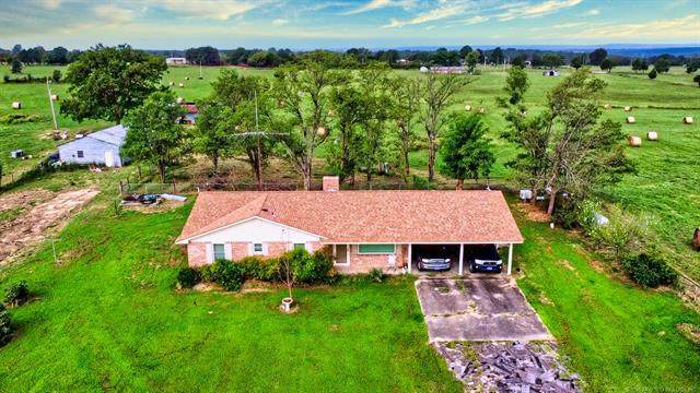 659 Pyle Mountain Road, Mcalester, OK 74501 (#2105256) :: Homes By Lainie Real Estate Group