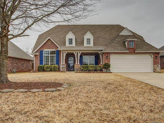 10808 S Olmsted Street, Jenks, OK 74037 (#2105271) :: Homes By Lainie Real Estate Group