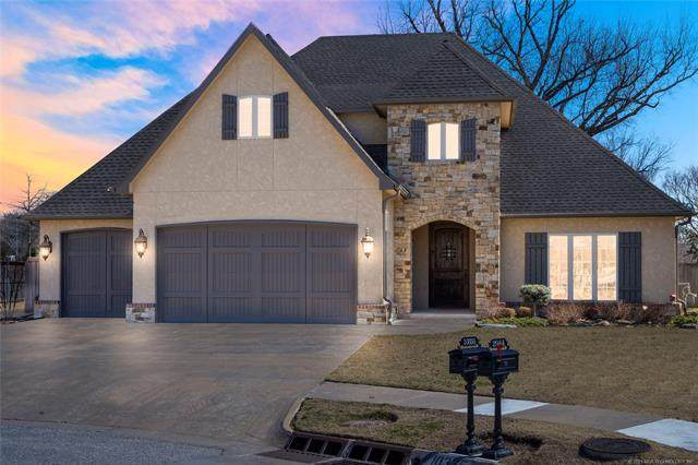 10335 S College Avenue, Tulsa, OK 74137 (#2105614) :: Homes By Lainie Real Estate Group