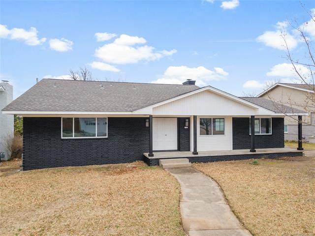2143 S Erie Place, Tulsa, OK 74114 (MLS #2105930) :: House Properties