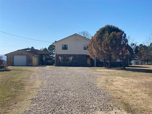 17442 NE 142nd Road, Red Oak, OK 74563 (MLS #2106489) :: Owasso Homes and Lifestyle