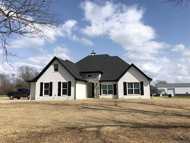 170 N 2 Mile Road, Fort Gibson, OK 74434 (MLS #2107741) :: RE/MAX T-town