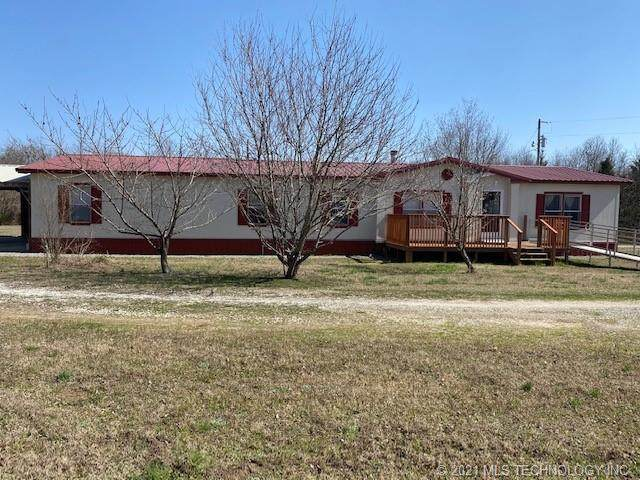 109797 Highway 150, Checotah, OK 74426 (MLS #2107951) :: Owasso Homes and Lifestyle