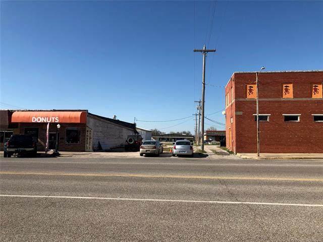 108 W Robert S Kerr, Wynnewood, OK 73098 (MLS #2108678) :: Hopper Group at RE/MAX Results