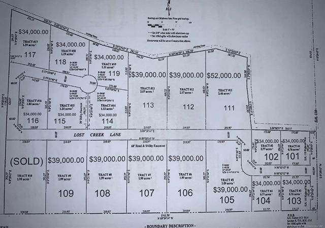 111 Lost Creek Lane, Davis, OK 73030 (MLS #2109412) :: Active Real Estate