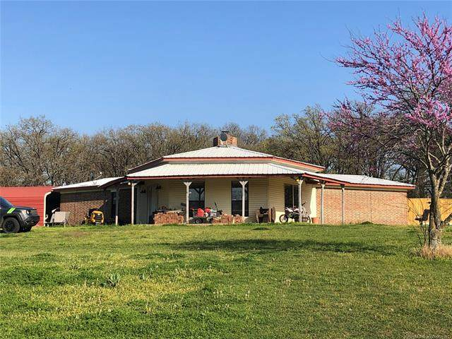 3993 Greenville Road, Marietta, OK 73448 (MLS #2109444) :: Hopper Group at RE/MAX Results