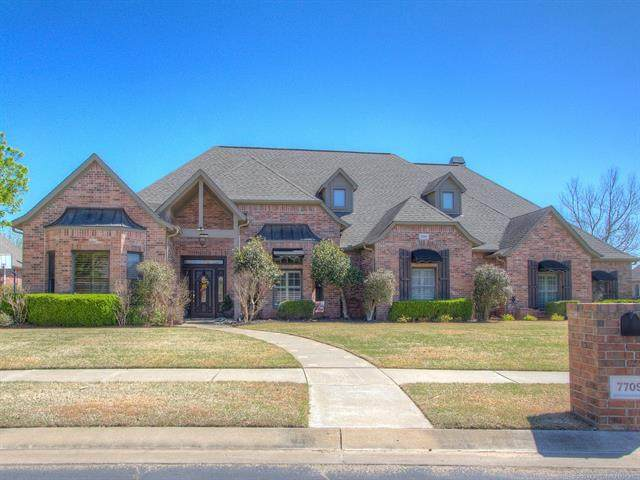 7709 S 4th Street, Broken Arrow, OK 74011 (MLS #2109448) :: Hopper Group at RE/MAX Results
