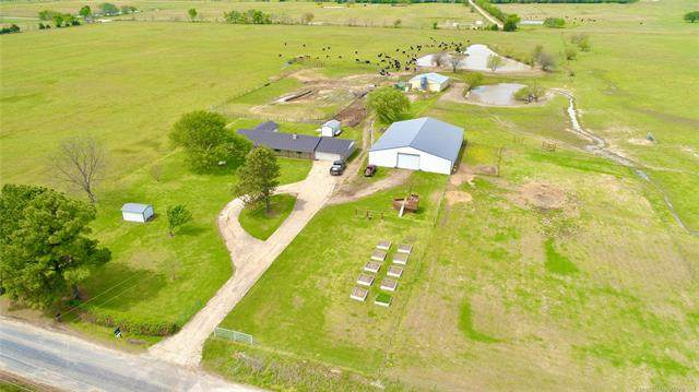 30613 S Lona Valley Road, Kinta, OK 74552 (MLS #2109704) :: Hopper Group at RE/MAX Results