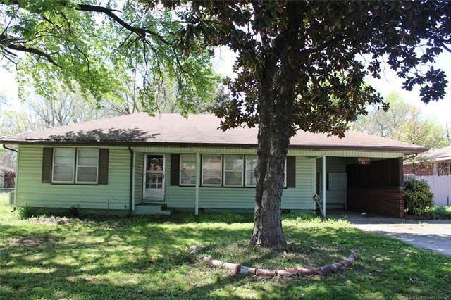 325 N 33rd, Muskogee, OK 74401 (MLS #2110006) :: Hopper Group at RE/MAX Results