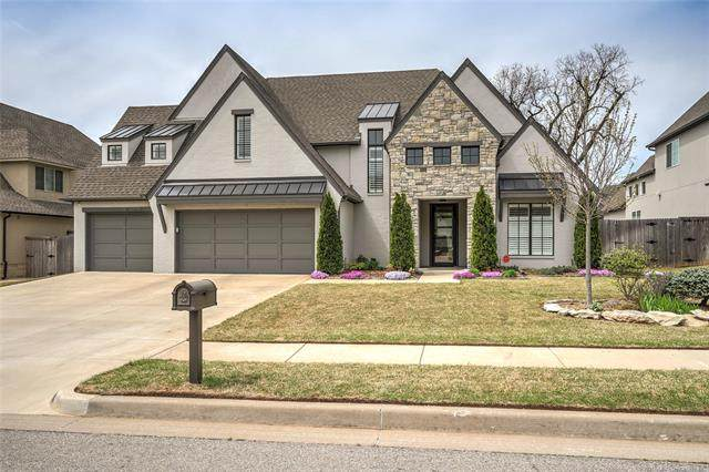 12464 S 105th East Avenue, Bixby, OK 74008 (MLS #2110255) :: Hopper Group at RE/MAX Results