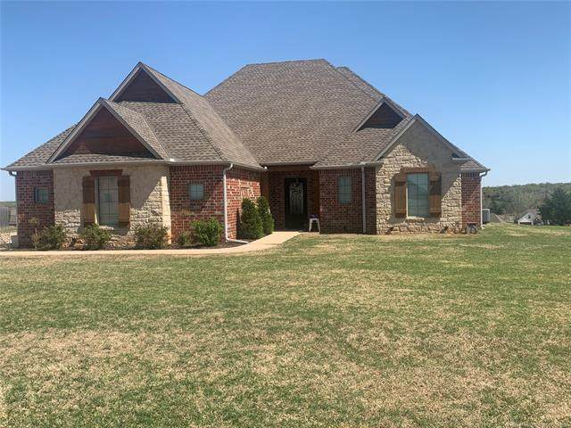 3682 Winding Ridge Drive, Blanchard, OK 73010 (MLS #2110364) :: Active Real Estate