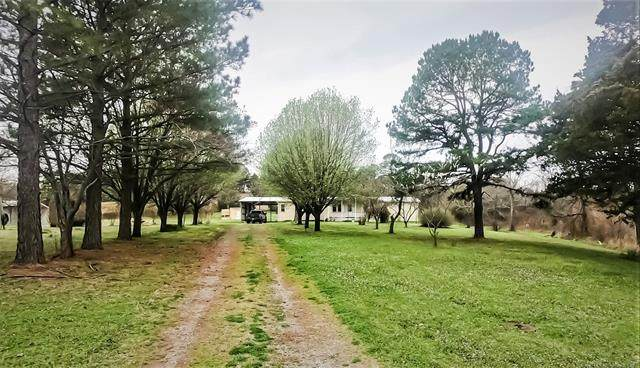 45849 Goats Bluff Road, Wister, OK 74966 (MLS #2110852) :: Active Real Estate