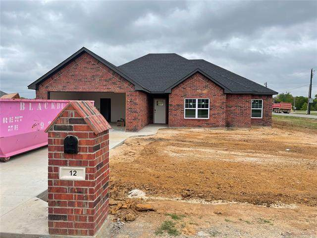 12 Fawn, Calera, OK 74730 (MLS #2111075) :: Hopper Group at RE/MAX Results