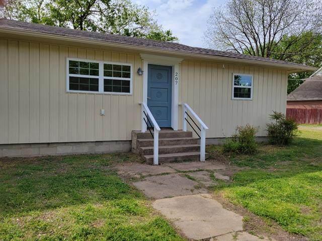 207 N Byrd Street, Coalgate, OK 74538 (MLS #2111108) :: 580 Realty