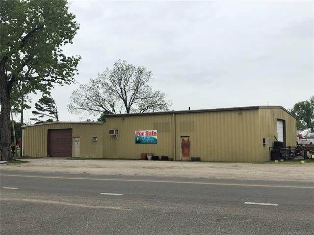 101 E Hanover Street, Coalgate, OK 74538 (MLS #2111131) :: 580 Realty