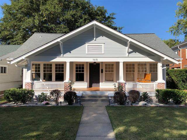 1618 S Newport Avenue, Tulsa, OK 74120 (MLS #2111297) :: Hopper Group at RE/MAX Results