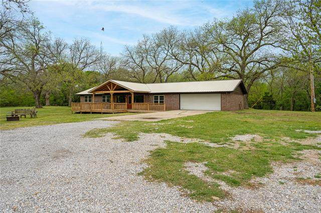 12223 Anson Drive, Marietta, OK 73448 (MLS #2111315) :: Owasso Homes and Lifestyle