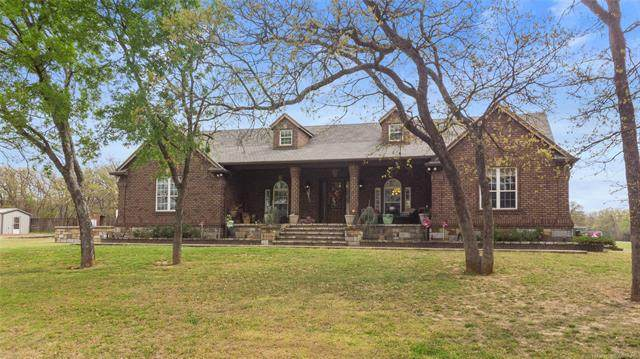 1901 Mcclain Rd Road, Ardmore, OK 73401 (MLS #2111373) :: Active Real Estate