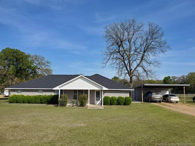 4900 S Preston Road, Tishomingo, OK 73460 (MLS #2111918) :: 918HomeTeam - KW Realty Preferred