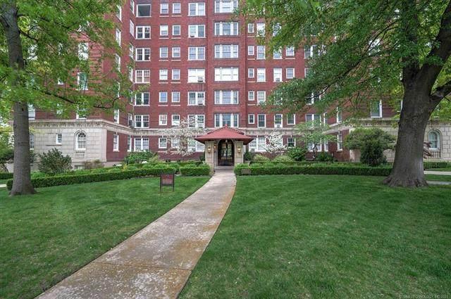 1500 S Frisco Avenue 5A, Tulsa, OK 74119 (MLS #2112000) :: Owasso Homes and Lifestyle