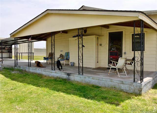 113097 Hwy 124, Weleetka, OK 74880 (MLS #2112717) :: Owasso Homes and Lifestyle