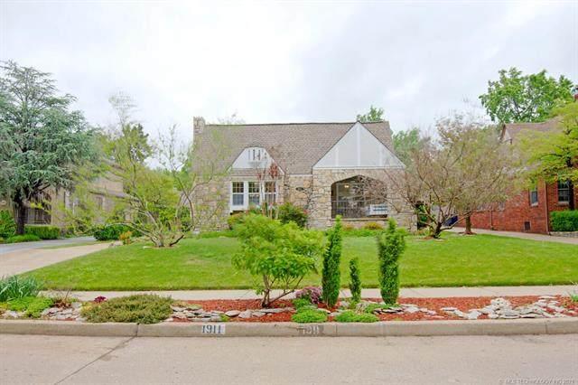 1911 S Evanston Avenue, Tulsa, OK 74104 (#2112890) :: Homes By Lainie Real Estate Group