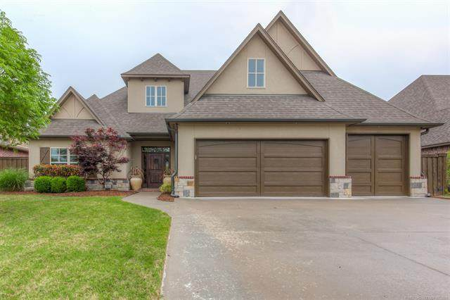 12313 S 105th East Avenue, Bixby, OK 74008 (MLS #2112922) :: Active Real Estate