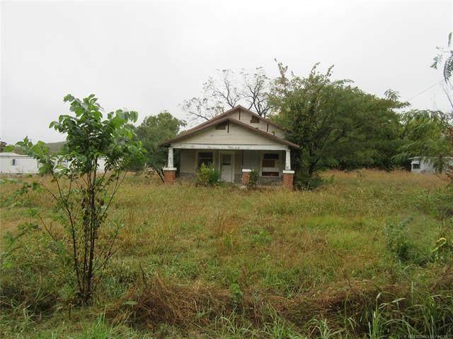 906 6th Street, Quinton, OK 74561 (MLS #2112977) :: Owasso Homes and Lifestyle