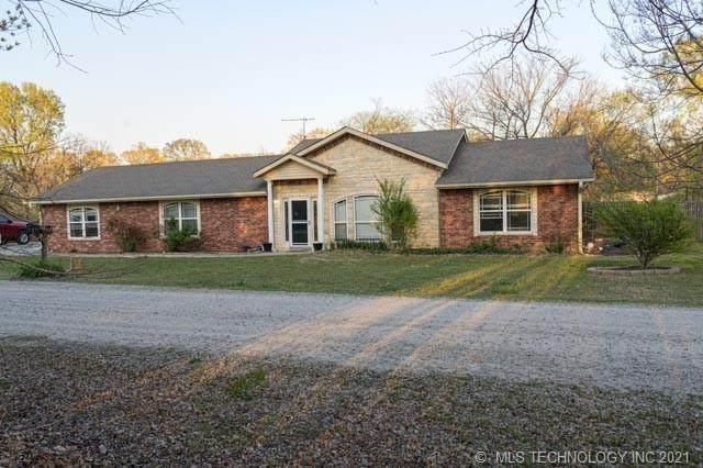 432 Oak Hollow Road, Eufaula, OK 74432 (MLS #2112993) :: Active Real Estate
