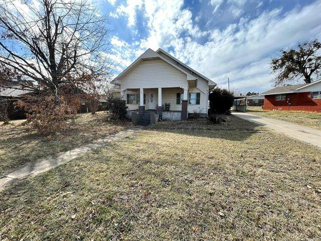 109 N Hampton Road, Rush Springs, OK 73082 (MLS #2113251) :: Owasso Homes and Lifestyle