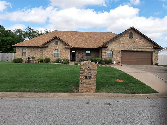 1614 Southern Hills Drive, Ardmore, OK 73401 (MLS #2113489) :: 580 Realty