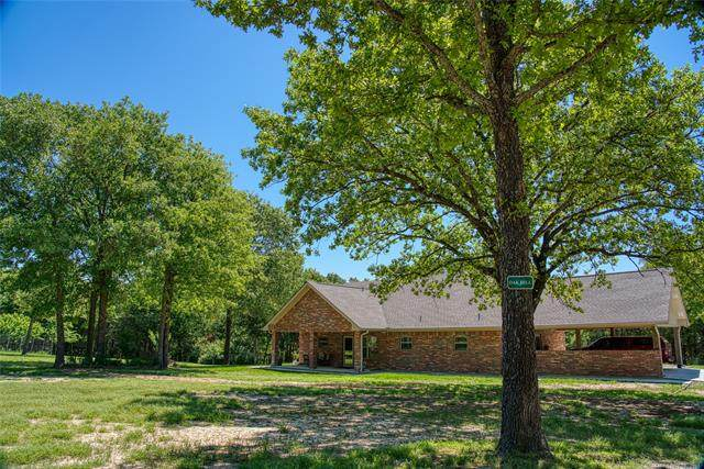 2322 E Cedar Ridge Road, Tishomingo, OK 73460 (MLS #2113856) :: 918HomeTeam - KW Realty Preferred