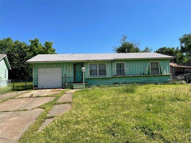 417 W 65th Place North N, Tulsa, OK 74126 (MLS #2114010) :: Active Real Estate