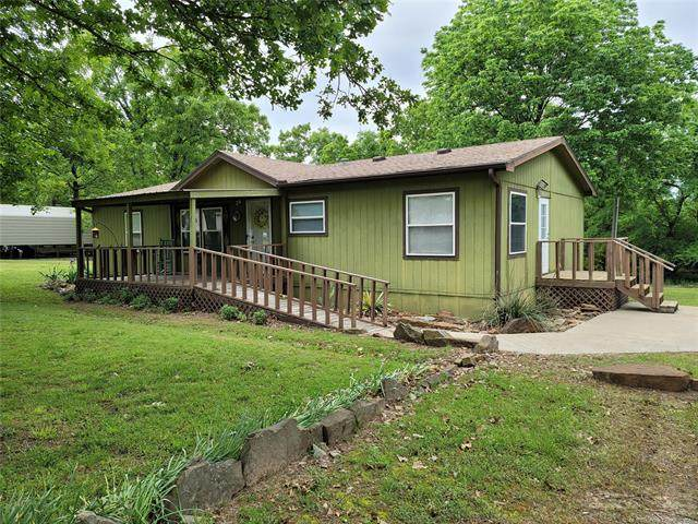 169 Eufaula Street, Canadian, OK 74425 (MLS #2114040) :: Owasso Homes and Lifestyle