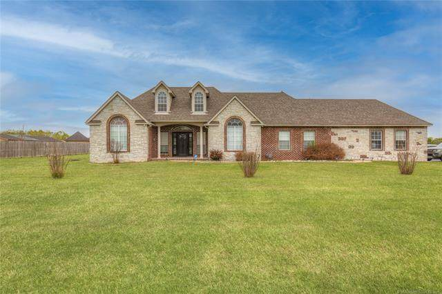 18703 S Yale Avenue, Bixby, OK 74008 (MLS #2114189) :: Owasso Homes and Lifestyle
