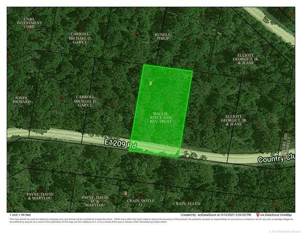 E 1209 Road, Eufaula, OK 74432 (MLS #2114566) :: Hopper Group at RE/MAX Results